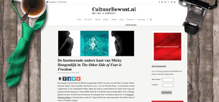 http://www.cultuurbewust.nl/kunst-recensie-micky-hoogendijk