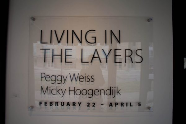 Living in The Layers Davis Gallery Opening