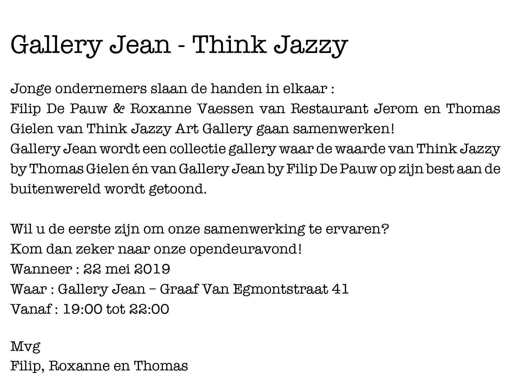 Uitnoding Gallery Jean -2